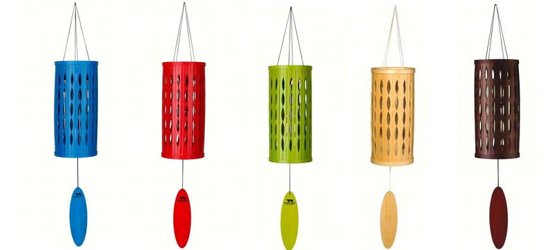 Aloha Chimes by Woodstock Chimes (5 Color Options) - YourGardenStop