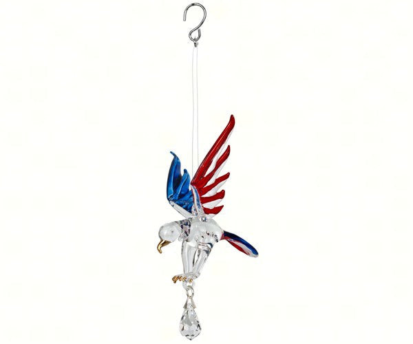 Fantasy Glass Eagles by Woodstock Chimes (3 Options)