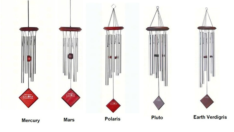 Woodstock Chimes of the Planets (Mars, Polaris, Pluto, Earth, Mercury) - YourGardenStop
