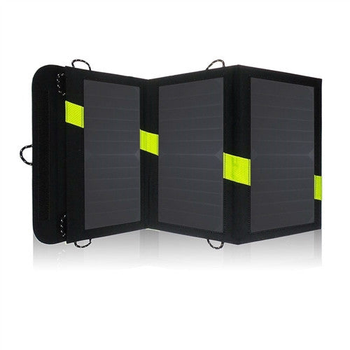 20 Watt Folding Solar Panel Portable Battery Charger - YourGardenStop