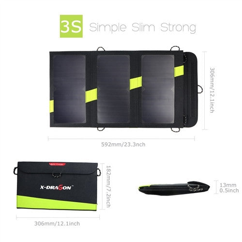 20W Solar Panel Portable Battery Charger-iPhone, Tablets & Smartphones - YourGardenStop