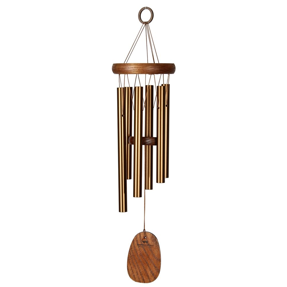 Woodstock Chimes Amazing Grace Chime Bronze-(Small or Medium) - YourGardenStop