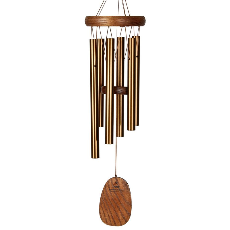 Woodstock Chimes Amazing Grace Chime Bronze-(Small, Medium or Large) - YourGardenStop