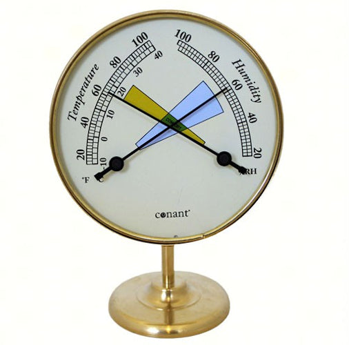 Comfortmeter Living Finish Brass