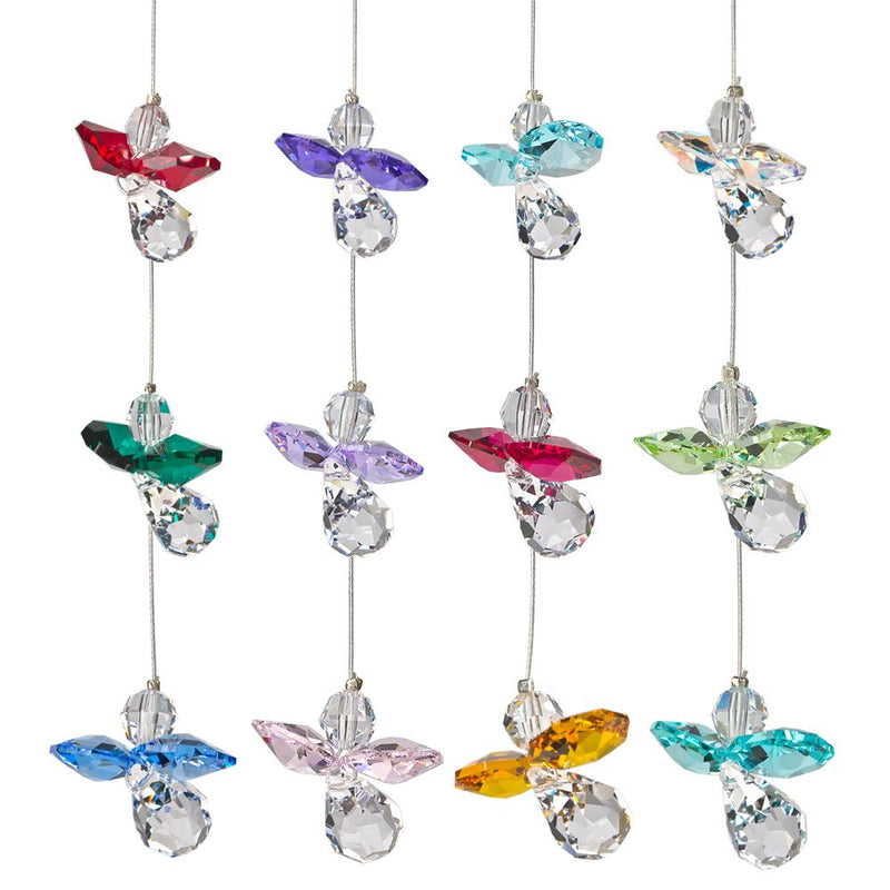 Woodstock Chimes Crystal Guardian Angel (Various Styles) - YourGardenStop