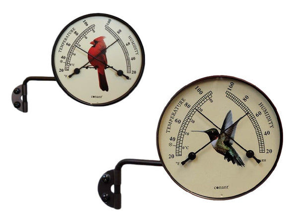 Conant Decor Comfortmeter (Cardinal or Hummingbird) - YourGardenStop