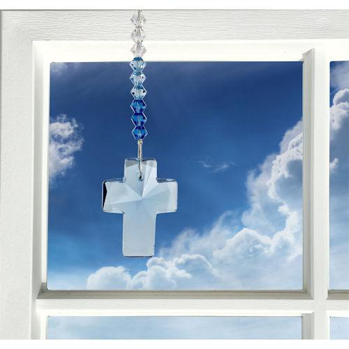 Glass Crystal Cross Charms - YourGardenStop