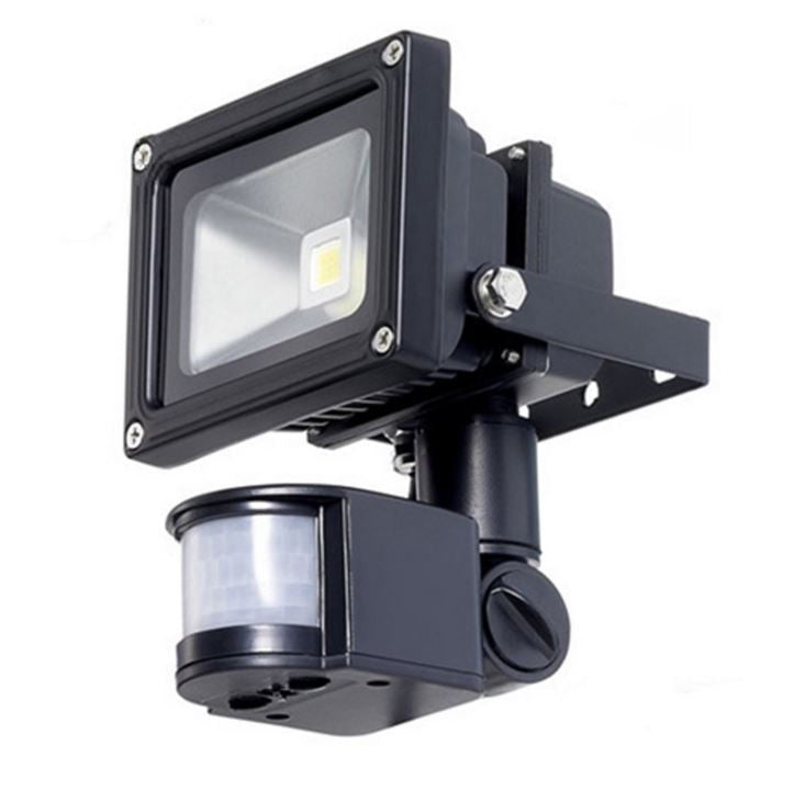Outdoor LED Floodlight Security Light with Motion Sensor 40 Ft Detection Range - YourGardenStop