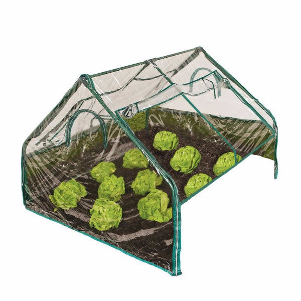 Frame It All PVC Greenhouse Kit 4ft. X 4ft. X 36in - YourGardenStop