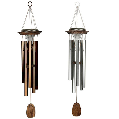 Moonlight Solar Chime (Bronze or Silver)