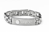 Brushed Stainless Steel Men´s ID Bracelet