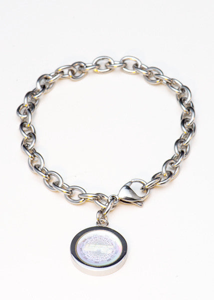 Sterling Silver Chain Bracelet with EFX Charm