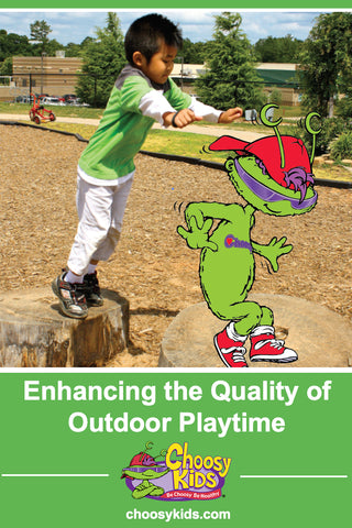 Enhancing the Quality of Outdoor Playtime