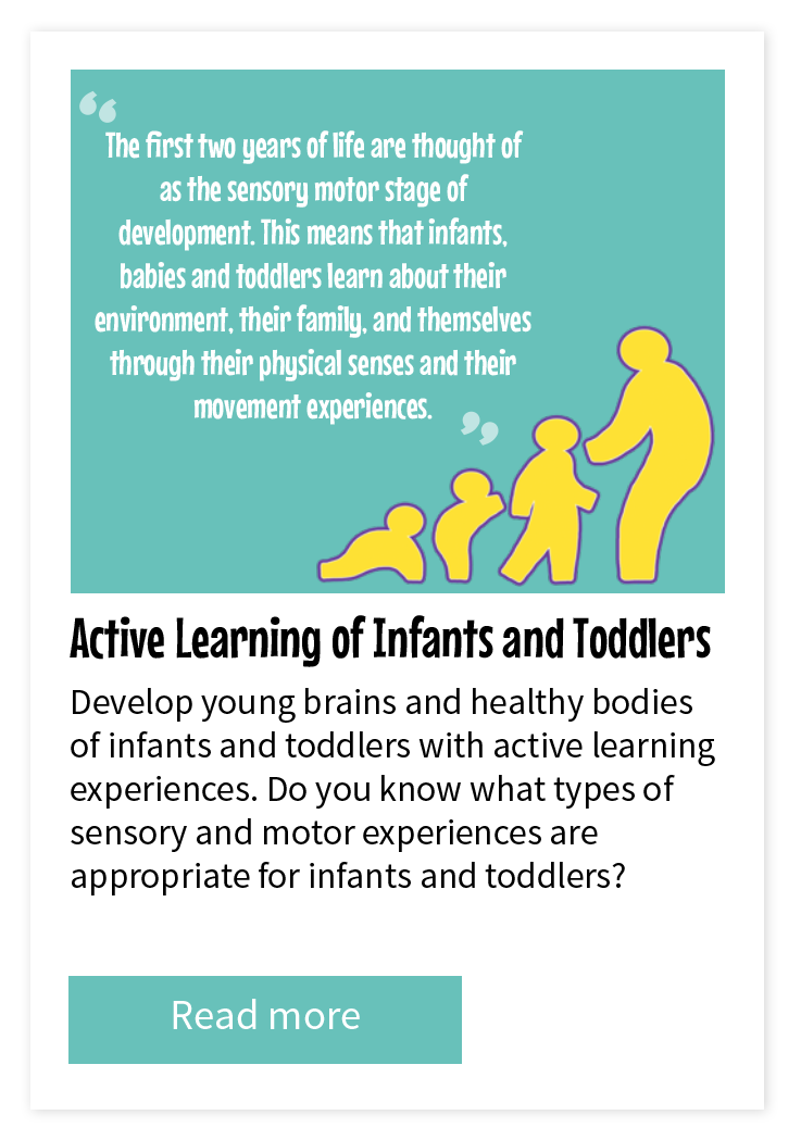 Active Learning of Infants and Toddler