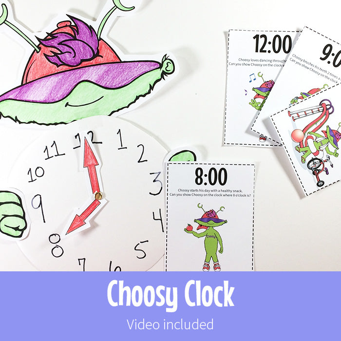 Choosy Clock