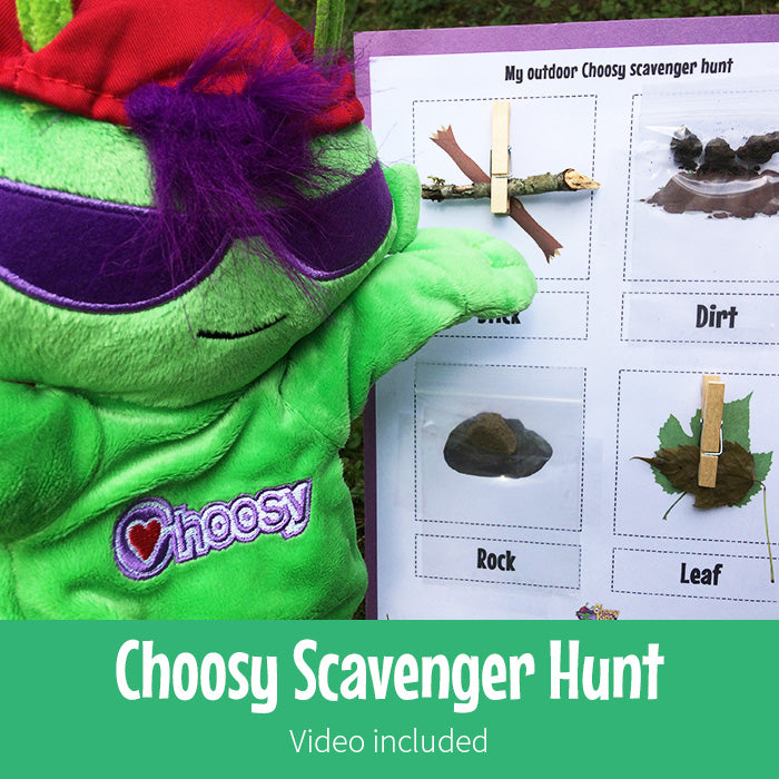 Choosy Scavenger Hunt
