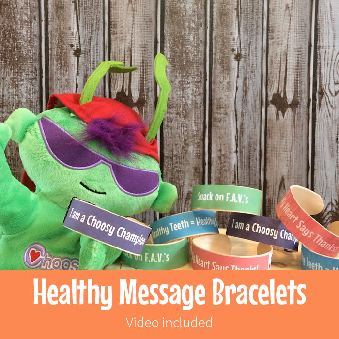 Healthy Message Bracelets