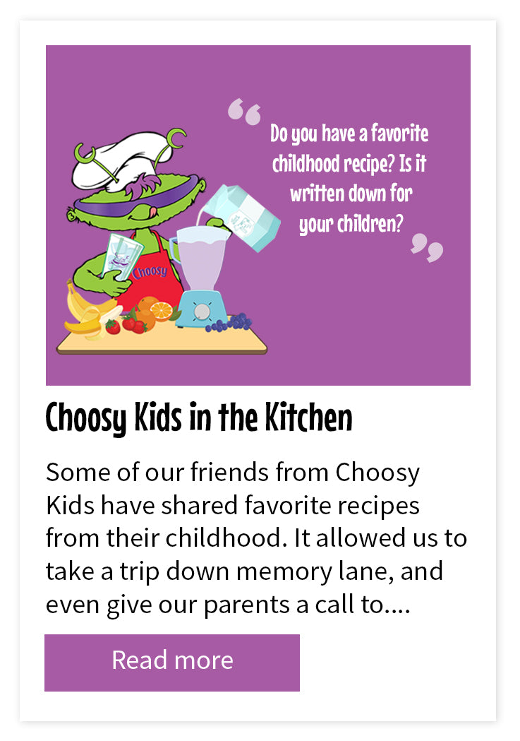 Choosy Kids In The Kitchen
