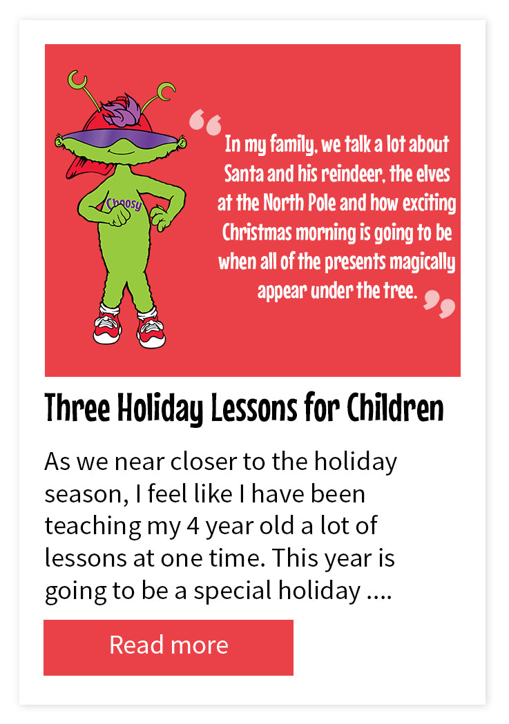 Three Holiday Lessons for Children