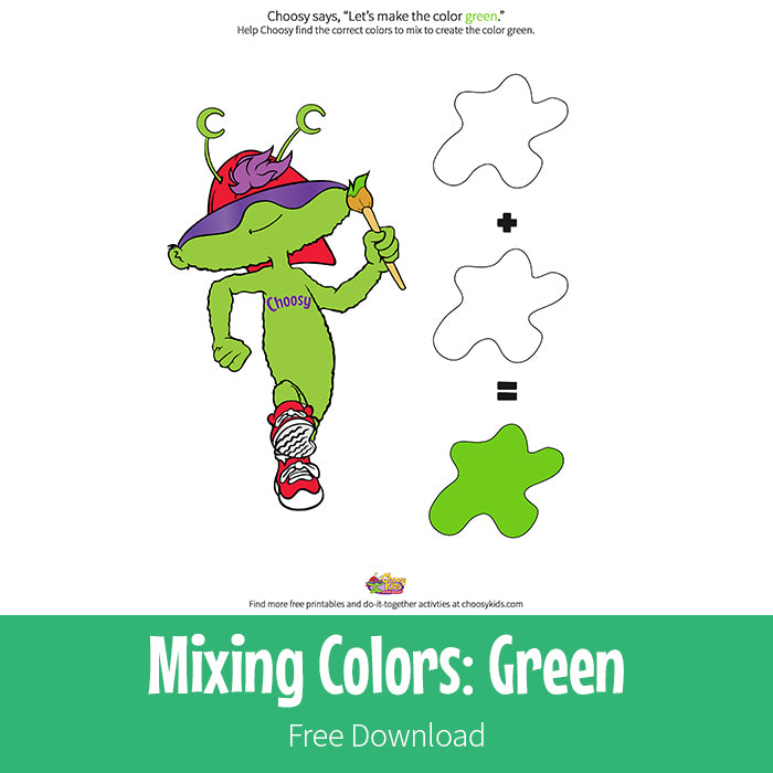 Mixing Colors: Green
