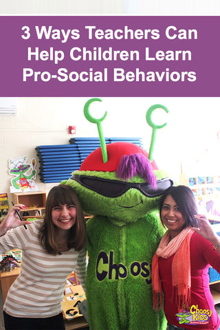 3 Ways Teachers Can Help Children Learn Pro-Social Behaviors