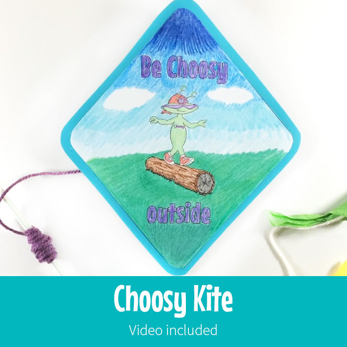 Choosy Paper Kite
