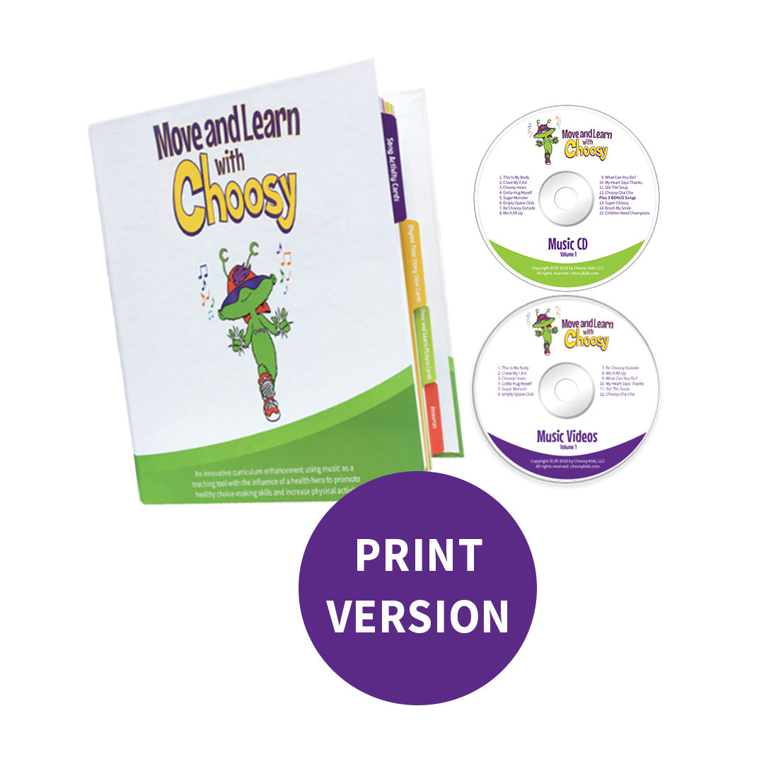 Move and Learn with Choosy Print