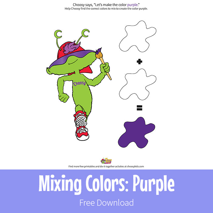 Mixing Colors: purple