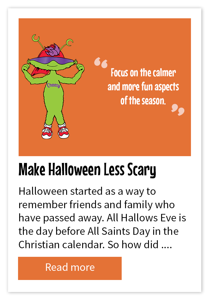Make Halloween Less Scary For Young Children