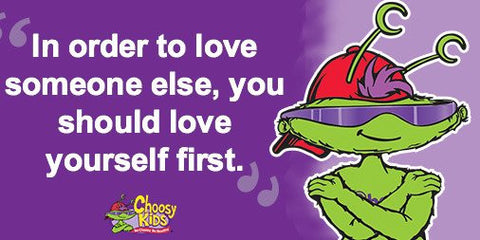 Choosy Kids Help your children develop a healthy sense of self-confidence - hug myself song