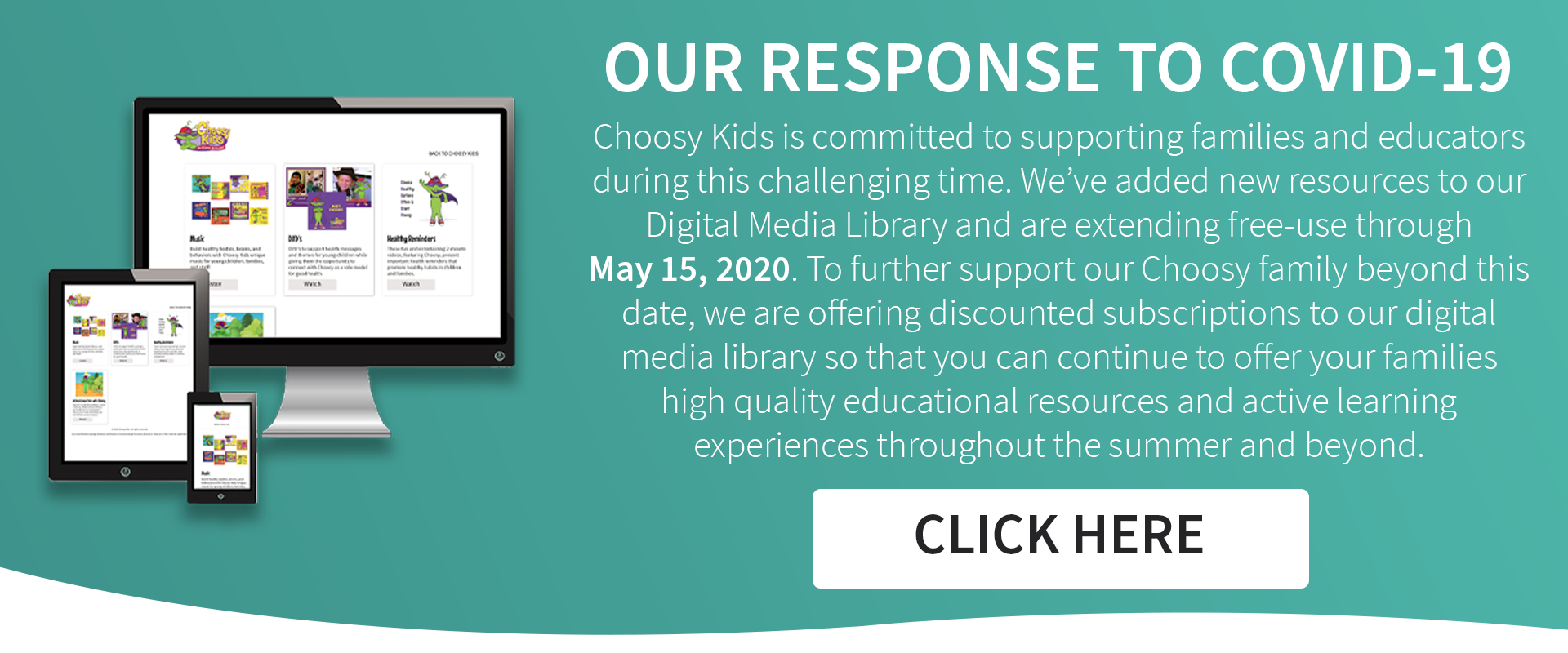 Move and Learn with Choosy