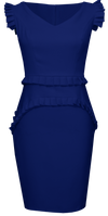 Dark Blue Dress - Everett