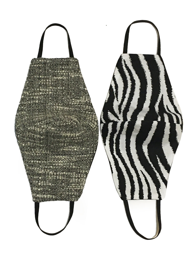 Nairobi Set of 2 Reversible Masks