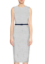 Torryn Polka Dot Sheath Dress (2colors)
