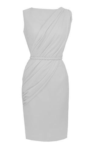 White Alexandria Dress