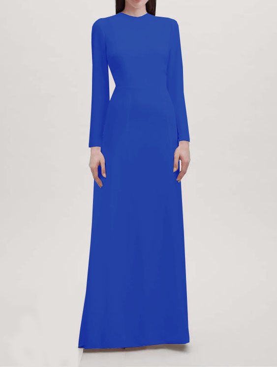 Peninsula Long Sleeves Gown - All Colors