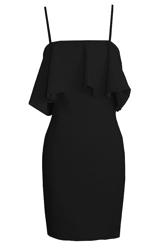 Coralie Dress - Black
