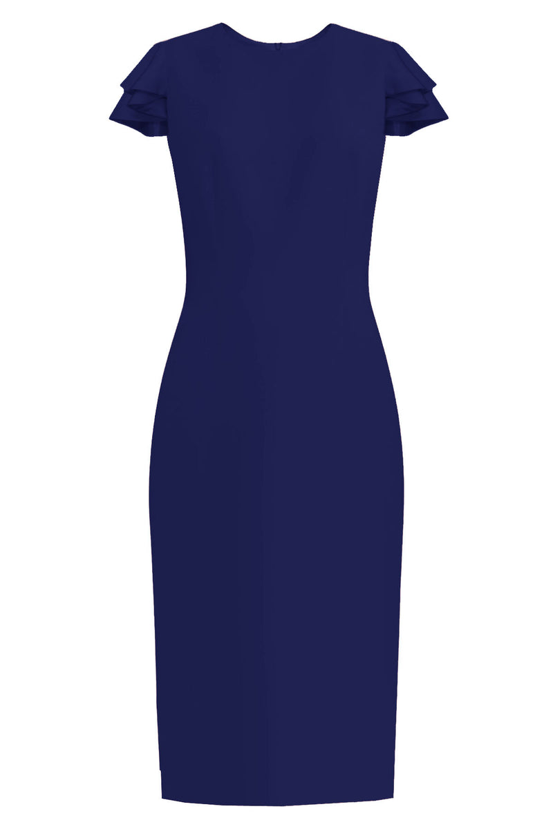 Estella Dress - All Colors Sheath dress with Butterfly Sleeves