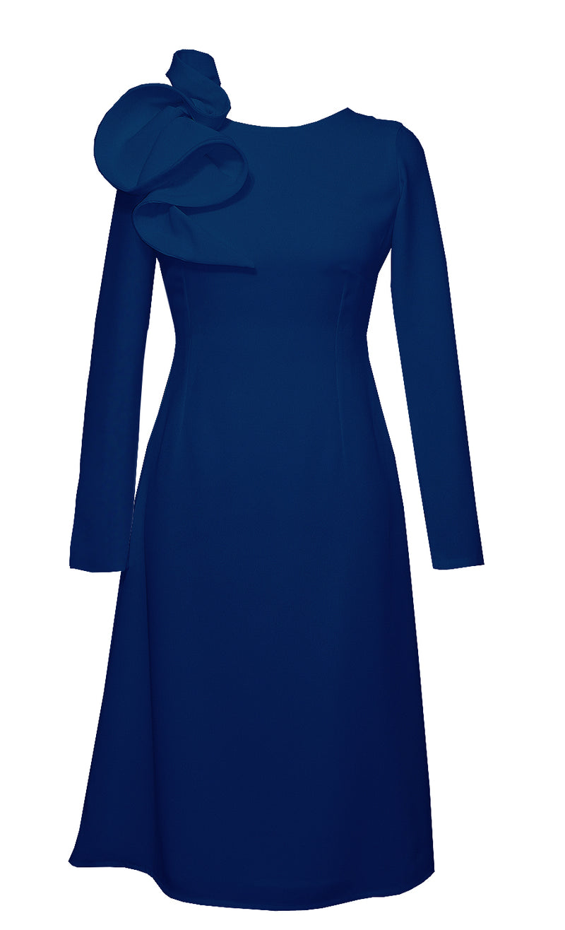 Modest Dress - Blue Eyry