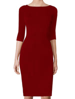 Juliette Basic Sheath Dress - All Colors