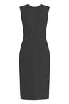Krew Black Sheath Dress - High quality