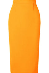 marigold pencil skirt