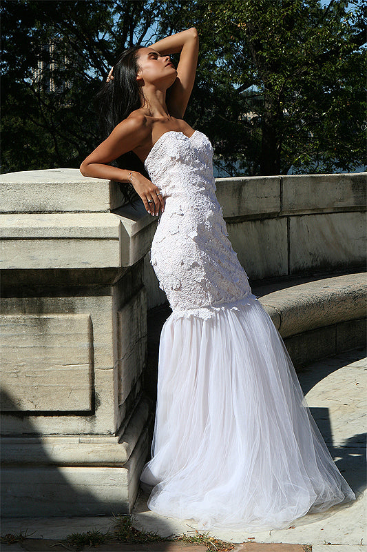 __ Caeli Couture Bridal Sage Gown