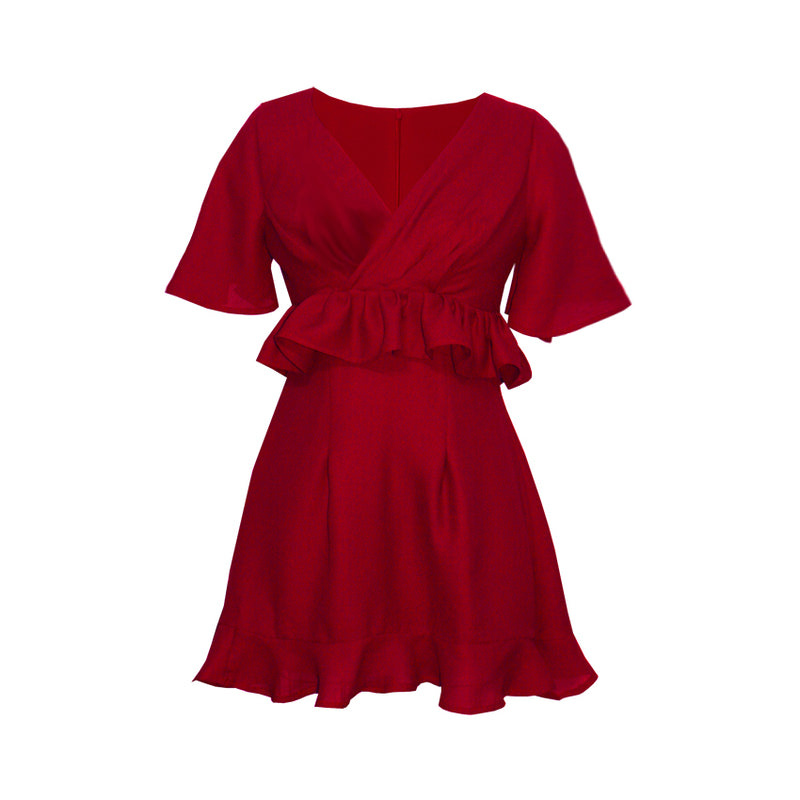 Towne Romantic Ruffle Dress