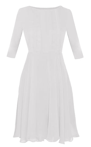 White Camryn Dress