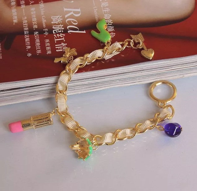 Fashion Bracelet With Charms
