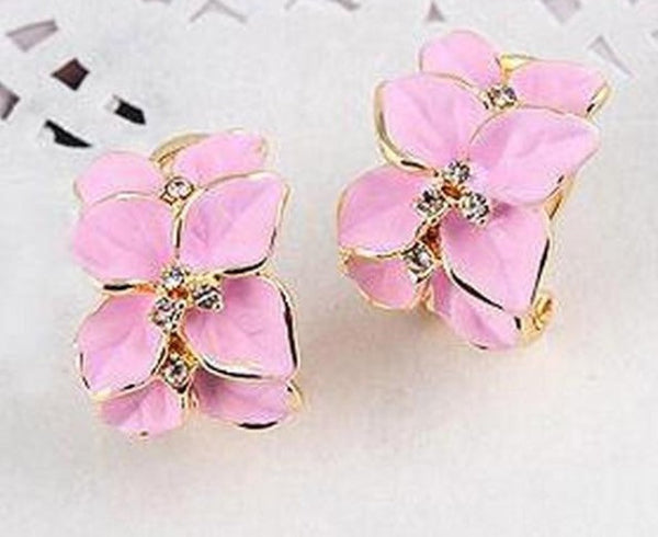 Pink Classy Earrings