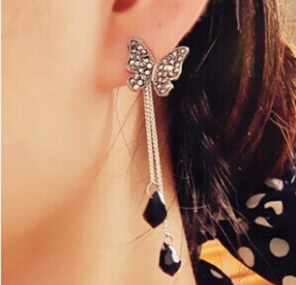 Butterfly Earrings - Classy Pink Boutique