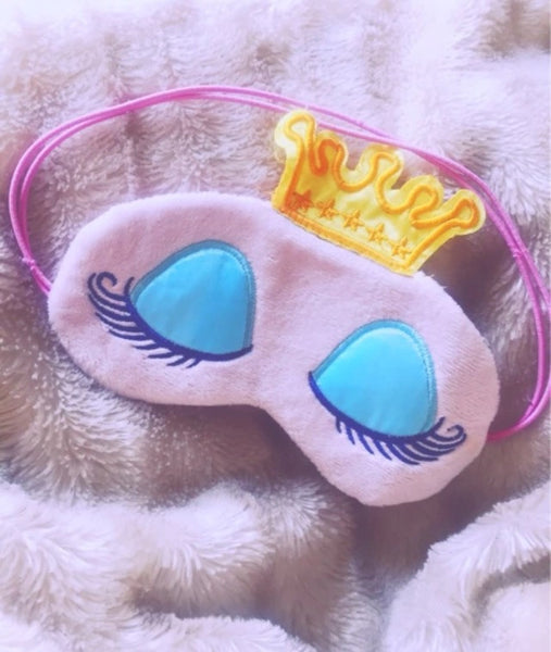 Eyelash Queen sleep mask - Classy Pink Boutique