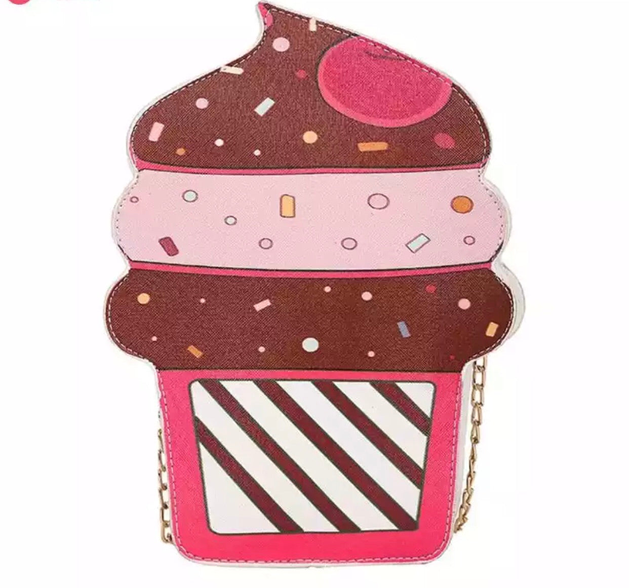 Delicious Ice cream crossbody bag purse